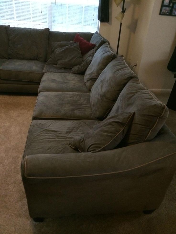 For Sale: Sectional couch - Sectional couch. 450 dollars. 8 by 11 feet great condition. Text 727-465-4664