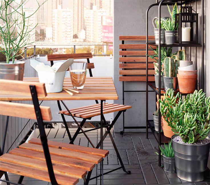 Decoración Balcón -IKEA