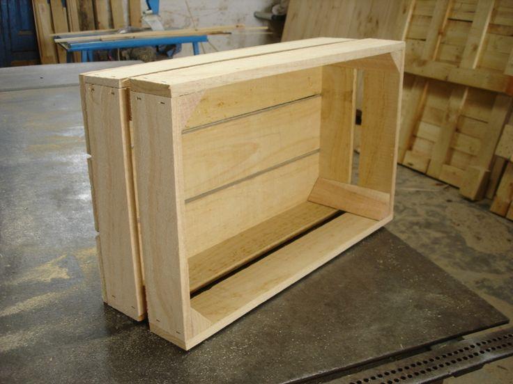 Caja fruta modelo 5f ikea pinterest - Cajas de madera de fruta gratis ...
