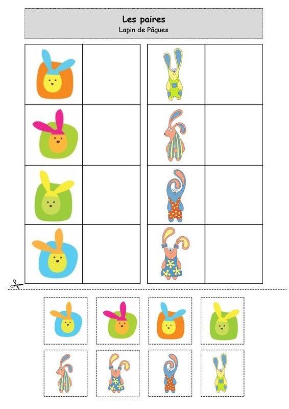 Nounou Lolo 88: Les paires : le lapin de Pâques