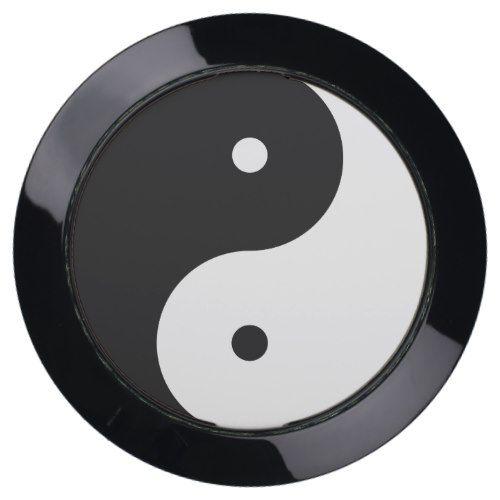 Yin & Yang Asian Symbol of Balance USB Charging Station