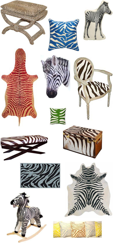 Decoração zebra - Sangue Bom - Casa da Bárbara Ellen