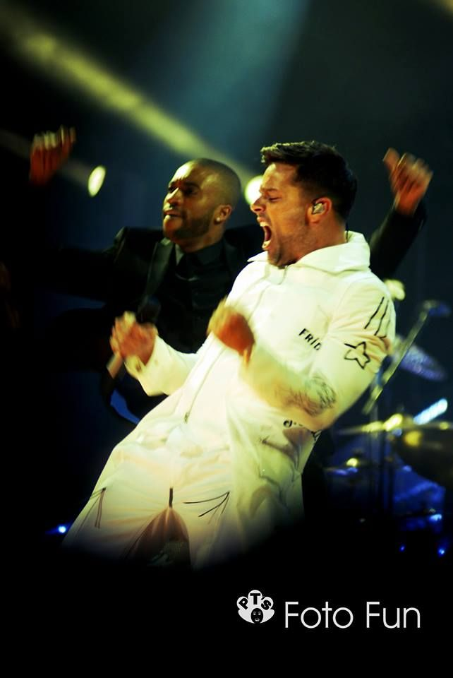 Ricky Martin in concert, Hamilton NZ. Photo from PT´s Foto Fun