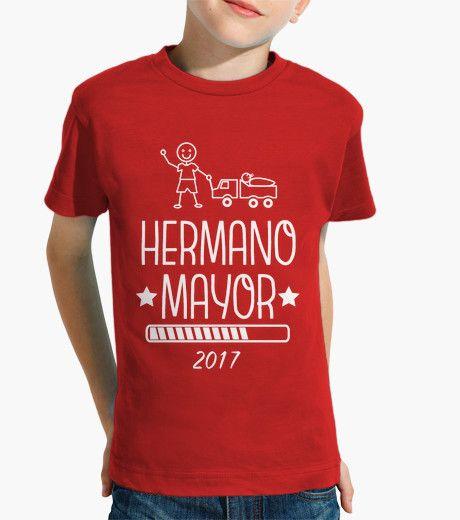 Camiseta Roja Hermano Mayor 2017