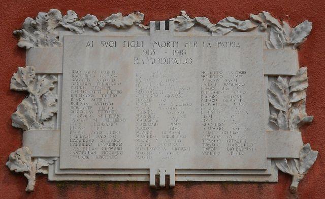 lapide ai caduti 15-18, scuola elementare,  Ramodipalo, Lendinara by Pivari.com, via Flickr