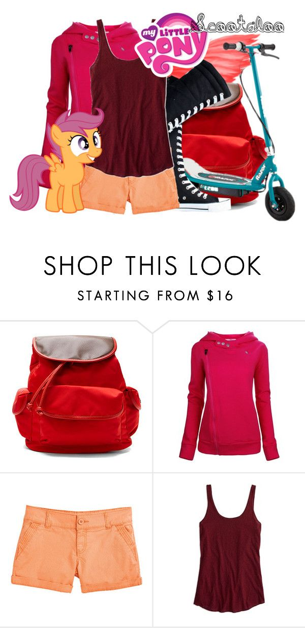 """""""My Little Pony Scootaloo"""" by didneyworl ❤ liked on Polyvore featuring Hadaki, maurices, American Eagle Outfitters and My Little Pony"""