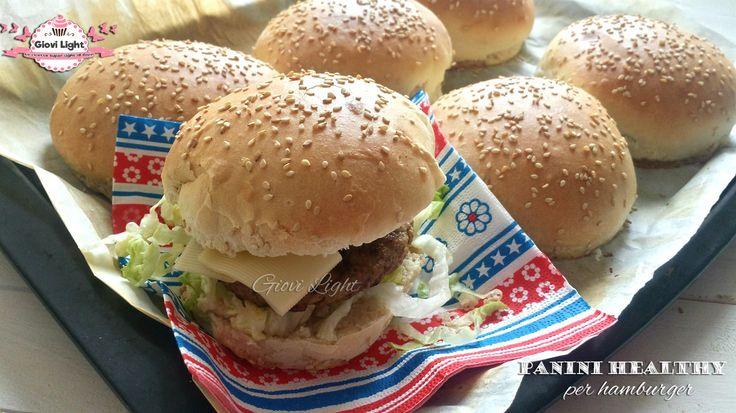 Panini healthy per hamburger | Le ricette super light di Giovi