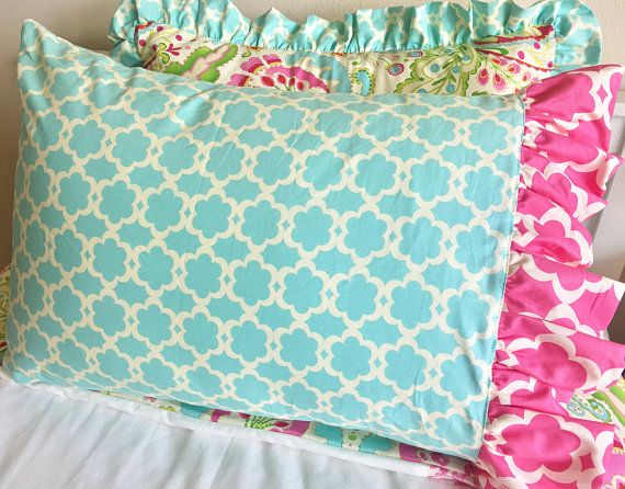 17 best ideas about hot pink bedding on pinterest pink - Hot pink and blue bedding ...