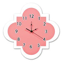 Trend Lab Coral Quatrefoil Wall Clock Trend Lab Wall
