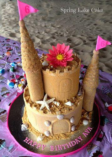 Sand Castle Cake                                                                                                                                                      More
