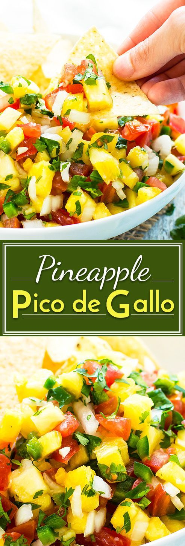 Pineapple Pico de Gallo