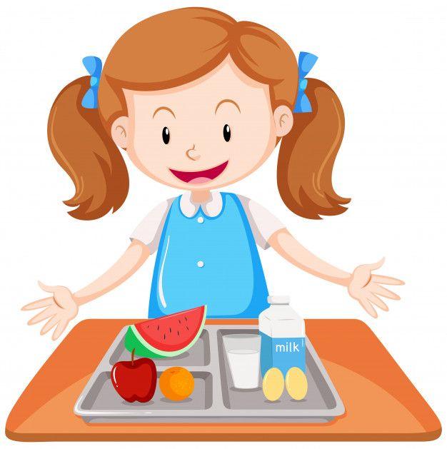 Descubre Miles De Vectores Gratis Y Libres De Derechos En Freepik Dibujos Para Ninos Nutricion Infantil Ninos Felices