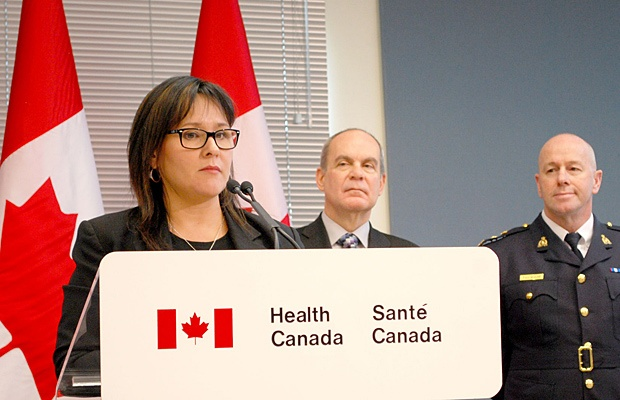 Federal Health Minister Leona Aglukkaq was at Maple Ridge Firehall #1 Sunday afternoon announcing proposed changes to growing and selling of medical marijuana, which will take effect March 2014.