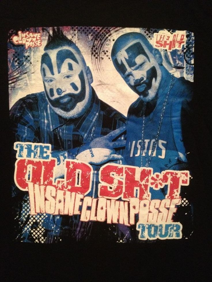 new INSANE CLOWN POSSE t-shirt 3XL OLD SH*T 2011 Tour Juggalos icp gotj tshit #Gildan #GraphicTee