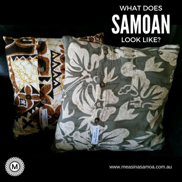 What does Samoan look like?