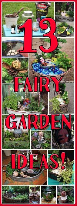 It's a Miniature Garden and Fairy Garden Roundup on the Mini Garden Guru Blog!