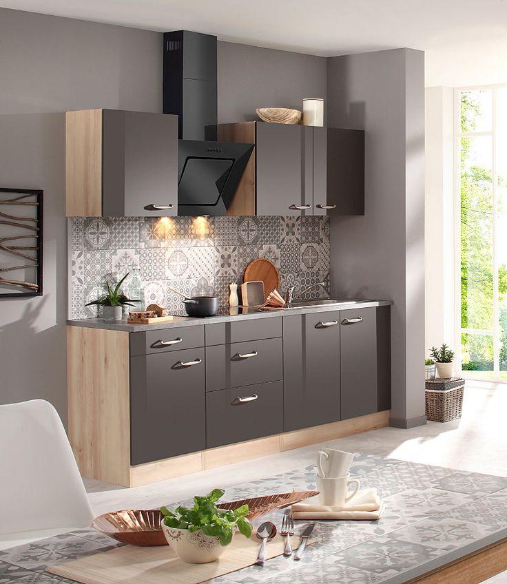 OPTIFIT Küchenzeile mit EGeräten »Calgary 210 cm« Jetzt
