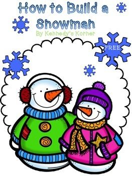 Students will love describing how they build a snowman in this adorable freebie!  It is a great way to introduce your students to the how to writing process.  We hope you enjoy this free product from Kennedy's Korner!  Production and Distribution of Writing  CCSS.ELA-Literacy.W.2.5 With guidance and support from adults and peers, focus on a topic and strengthen writing as needed by revising and editing.