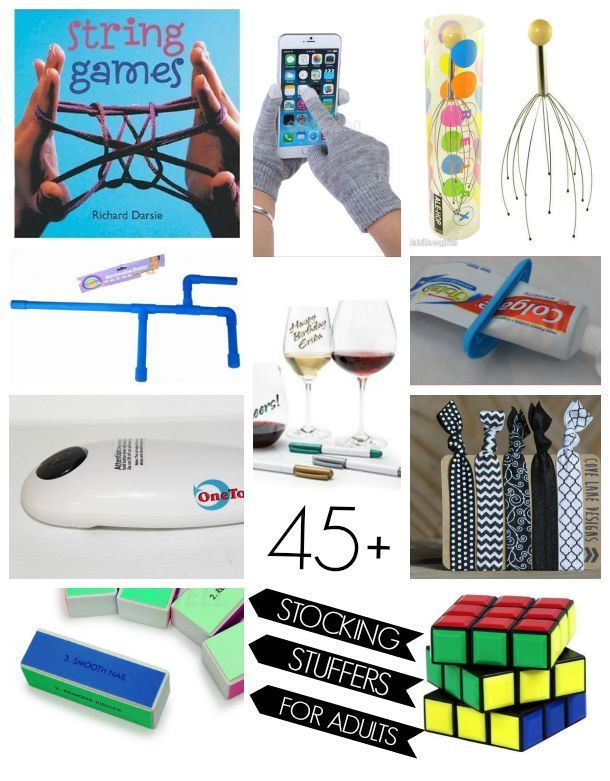 45 Stocking Stuffer Ideas For Adults Stockings Awesome