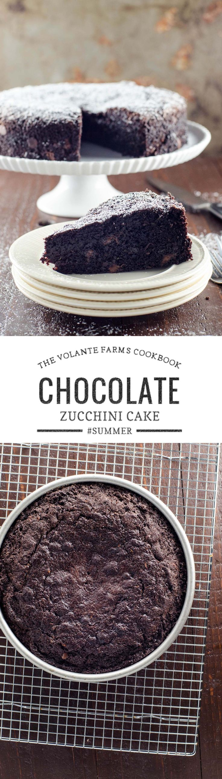 This wonderful, unfussy chocolate zucchini cake is adapted from The Volante Farms cookbook, celebrating the market of the same name in Needham, MA. via @umamigirl (Bread Baking Tools)