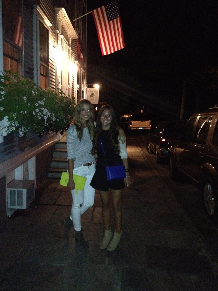 Nantucket nights- preppy & fashionable. Proenza Schouler & Celine bags