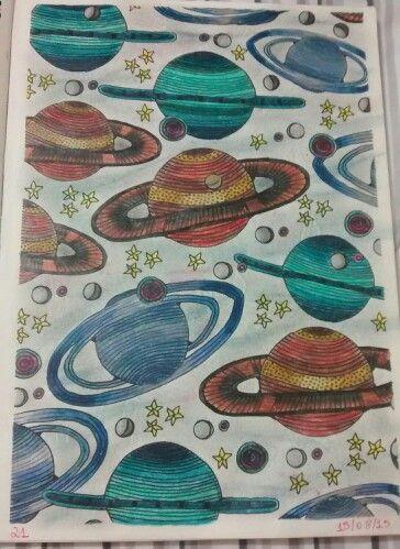 """Vigésima primeira ilustração de """" O livro anti-insônia"""". The can't Sleep Colouring Book ( Creative Colouring for Grown-Ups."""