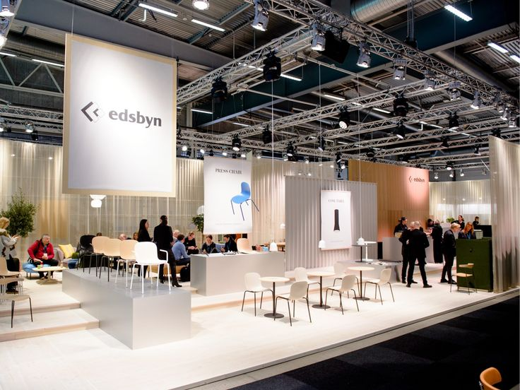 Edsbyn's stand at Stockholm Furniture Fair 2018