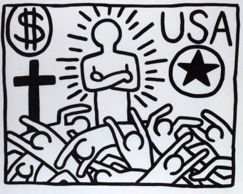 Los iconos de Keith Haring, con Asterisco