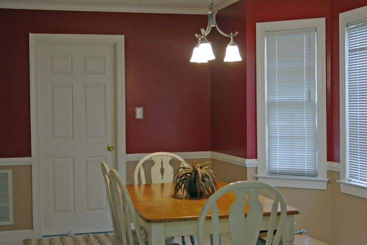 Kitchen Inspiration Renovation Two Paint Colors Split