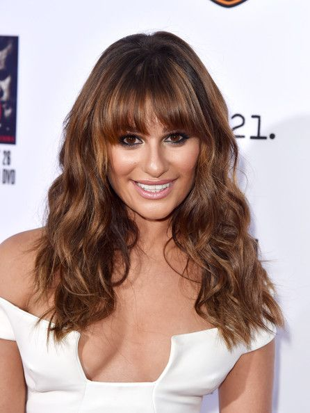top ten haircuts best 25 bangs hairstyles ideas on bangs 2507 | 571216e30e5ecf0d6b33d1381c2507de bangs long hairstyles lea michele
