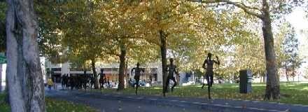 Riverfront Park Art - Runners