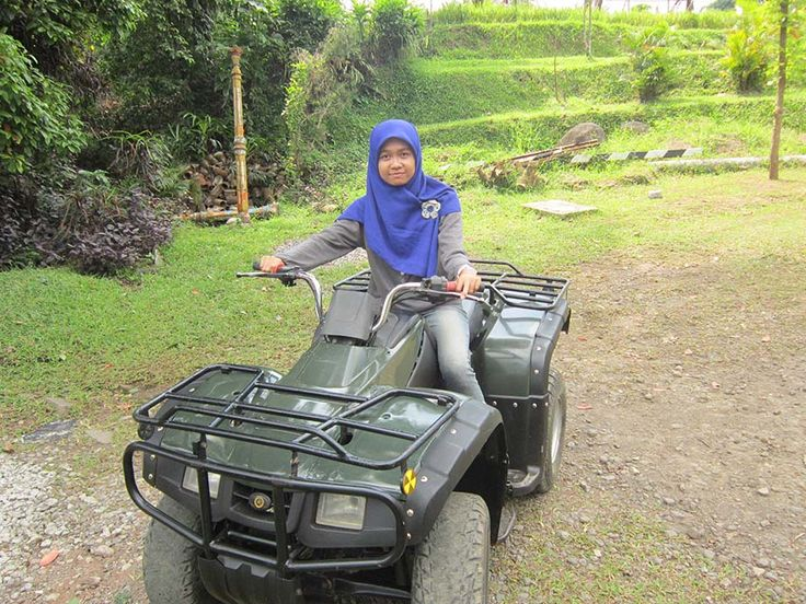 Seru nih.. maen ATV @progorafting #magelang #adventuretime .. http://www.progorafting.com follow me @ririsgosir on twitter :D