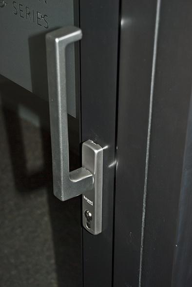 Architectural lift & slide handle for our Hajom range of doors. http://www.olsenuk.com/products/hajom-doors-windows