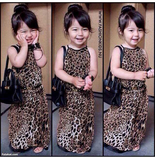 Girl's Maxi Dress in leopard with sizing from 2-3 to 9-10. Available for pre-order from www.maxidressheaven.com #maxidress #dress
