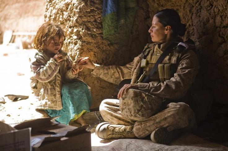 Marines in Combat | Women in Combat: U.S. Marine Corps 1st Sgt. Raqual Painter