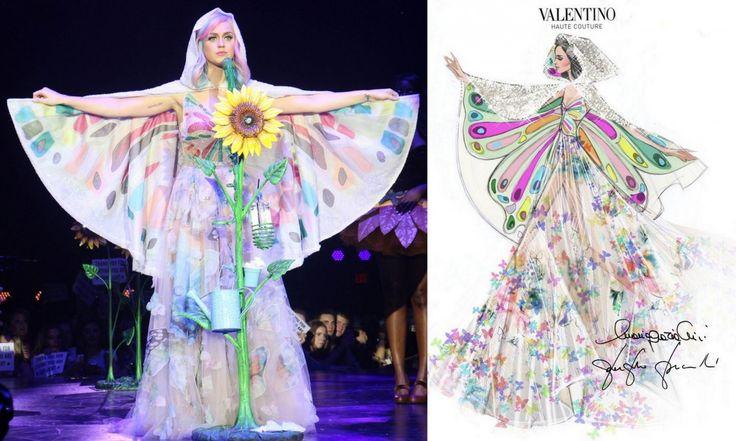 """Katy Perry prism tour: egy élő """"Firework""""  - Katy Perry a dizájnerek kedvence. Ruhái egytől egyig káprázatosak."""