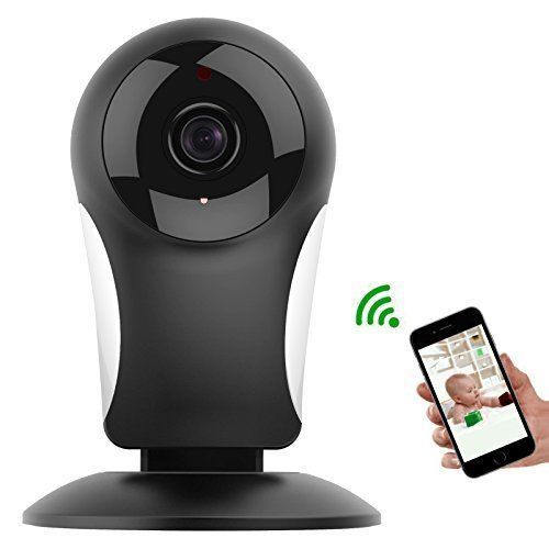 Wireless IP Camera Wifi Baby Monitor Indoor Security Camera Audio & Night Vision #WirelessIPCameraWifi