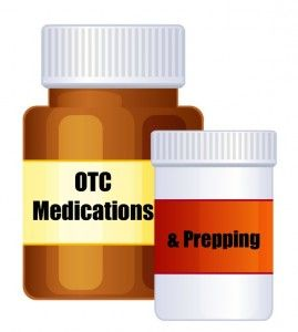 Over The Counter Medicines to stock in case of an emergency.