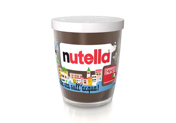 Nutella, Esperienza Italia 150Design Inspiration, Anniversaries Packaging, Italian Excel, Italia 150Art, Limited Editing, Editing Nutella, Esperienza Italia, 150Th Anniversaries, Italian Families