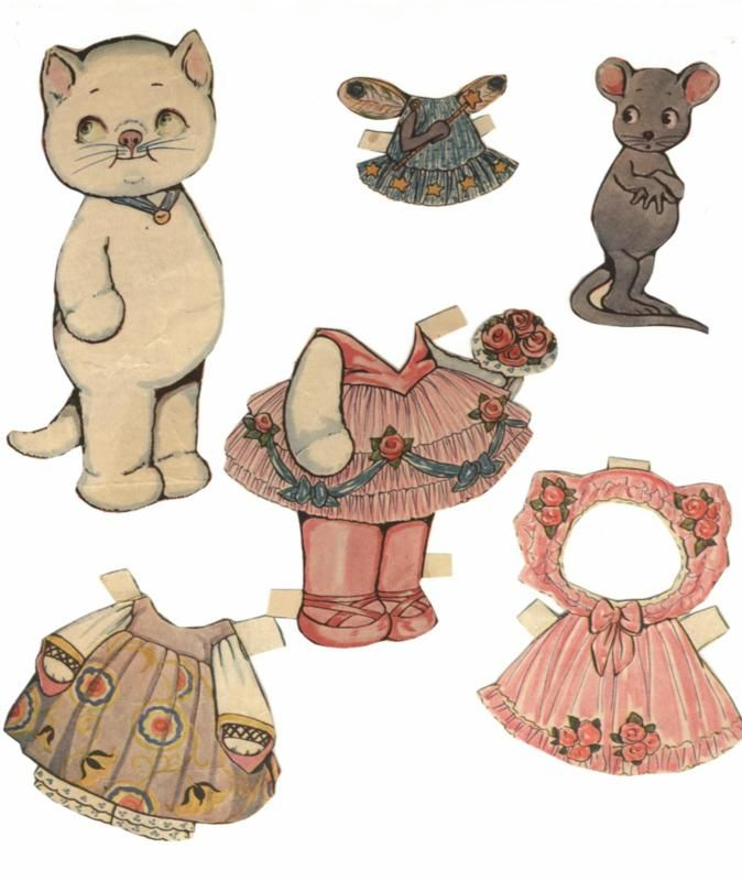 10 best images about cat paper dolls on pinterest dress up cats and mice. Black Bedroom Furniture Sets. Home Design Ideas
