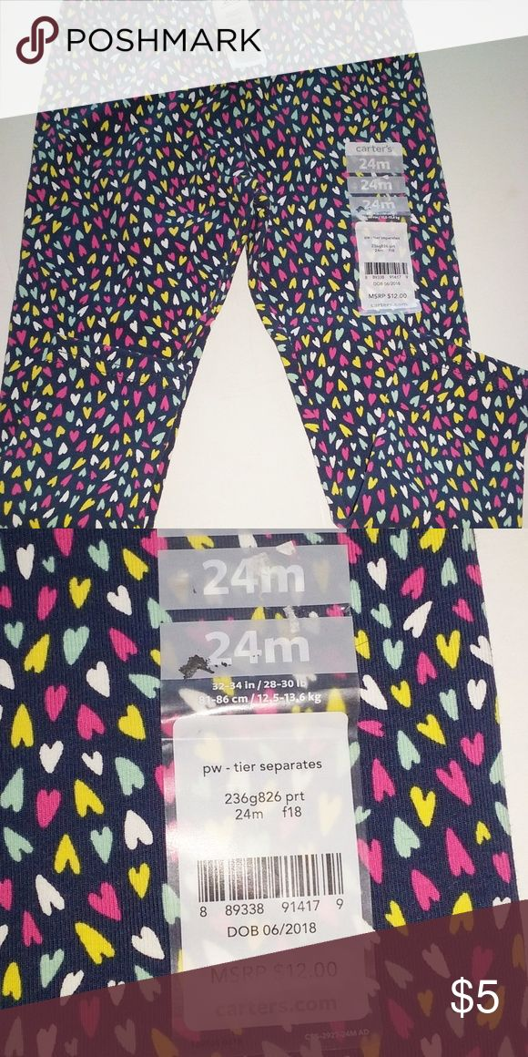 d802fbc3e NWT 24 Mo. Girl s Leggings Carter s This is a brand new