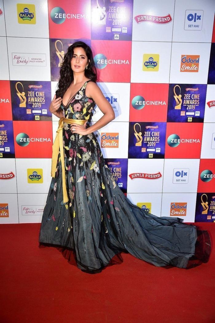 Katrina Kaif Walks The Red Carpet At The Zee Cine Awards Bollywood Actress Hot Actresses Awards