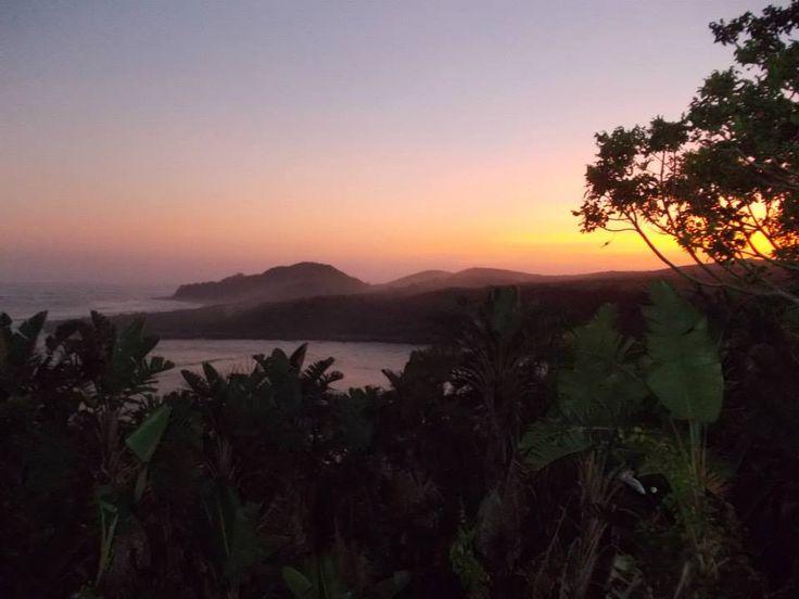 Wild coast sunsets.
