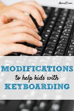 With each passing year, technology becomes a more critical part of students' educational programs. This is especially true for children who struggle with handwriting. Keyboarding is often sug…