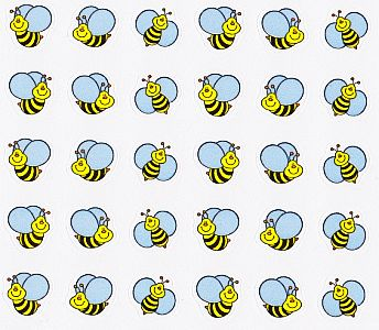 Bumble Bee Mini Stickers