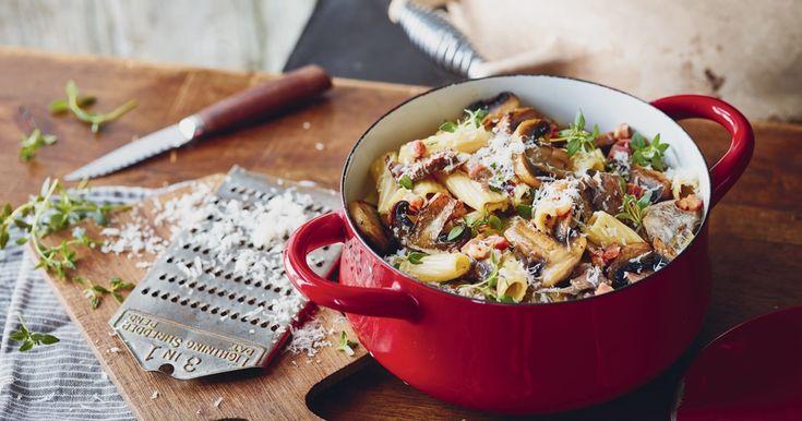 Découvrez cette savoureuse recette de pâtes aux champignons