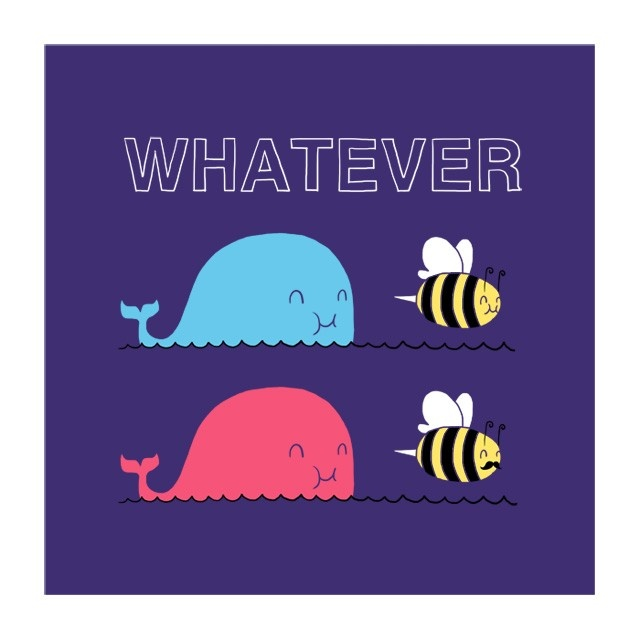 Que sera, sera whatever whale bee whale bee