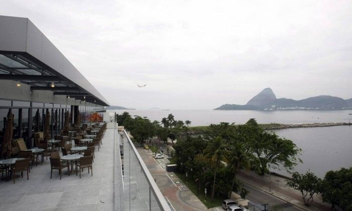 Shopping Bossa Nova, no Aeroporto Santos Dumont Foto: Luiz Ackermann / Agência O Globo