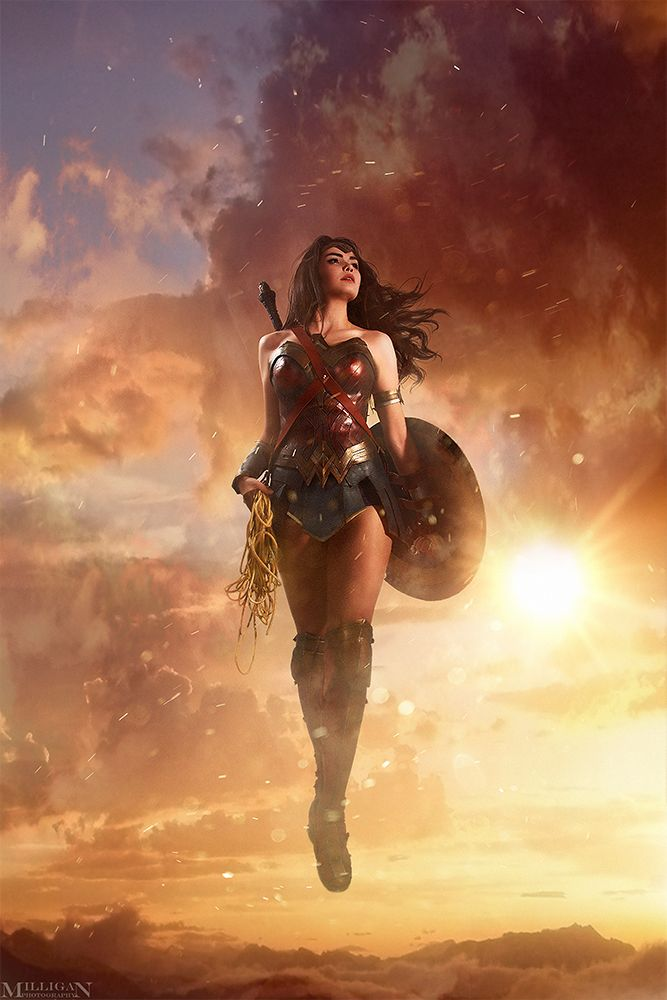DC - Wonder Woman by MilliganVick.deviantart.com on @DeviantArt