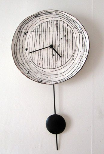 Maria Kristofersson, ceramic clock